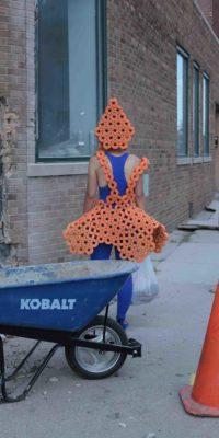 Helena Hartmann, Swim Noodle Performance, Collaboration with Ragnhild Skauge Paus, Detroit