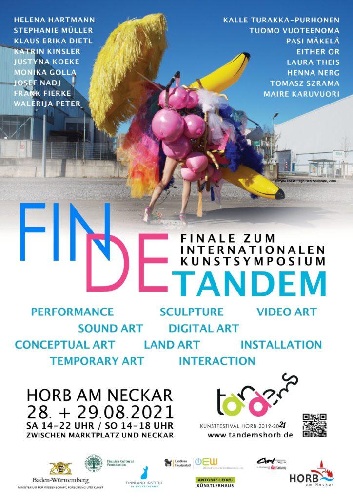 FINDE tandem Kunstsymposium mit internationalen Gästen